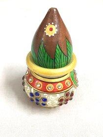 Marble Pooja Kalash Gift Item
