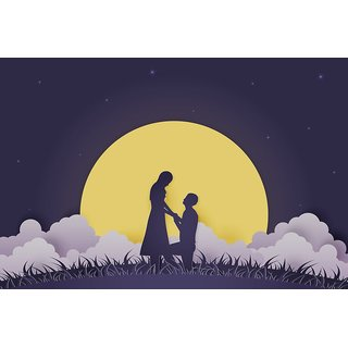 Young couple dating in Valentine day |wall poster(size:12x18 inch) |Sticker Paper Poster, 12x18 Inch