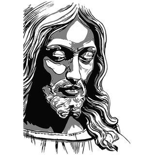 Jesus |(12x18 inch) Paper Print |Sticker Paper Poster, 12x18 Inch