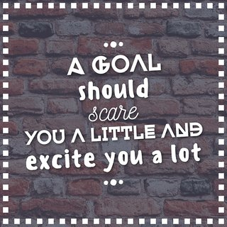 a goal shouldAll Time Posters| |Sticker Paper Poster, 12x18 Inch
