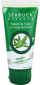 SEABUCK ESSENCE  Neem and Tulsi Purifying Face Wash (80 ml)