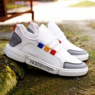 Seabert Men White Sport Shoes