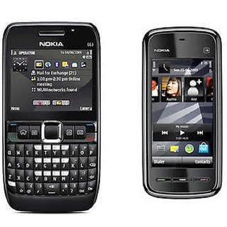 Nokia E63 Mobile Phone With Nokia 5233 Mobile Phone Refurbished (6 Months  Warranty Bazzar Warranty)
