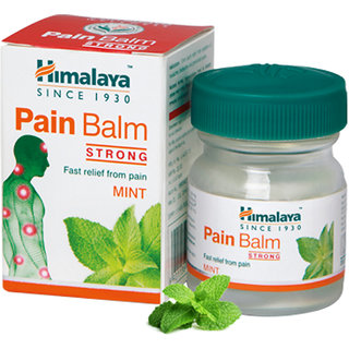 Himalaya Pain Balm Strong Fast relief from Pain Mint 10g