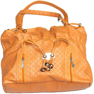 Women Orange HandBag