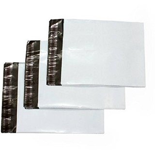 water Proof Courier Poly Bags POD (Pack Of 200) 18X22 (white)