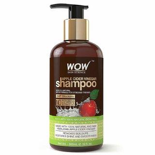 WOW Skin Science Apple Cider Vinegar No Parabens Sulphate Shampoo 300 ml