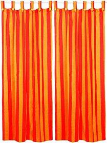Bpitch Cotton Door Mats Multicolour set of 4