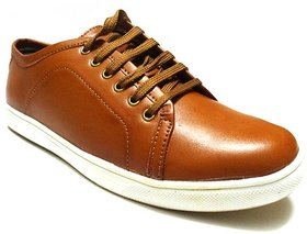 Oxhide Lifestyle Tan Casual Shoes