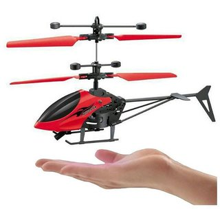 Infrared induction helicopter Hand Induction without remote