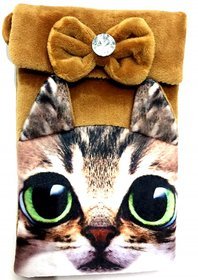 Cat Styles Ladies Sling Bag for Headphone, Phones, Coins and Jewels Pack Of one