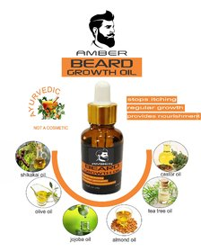 Dadi Aur Mooch Ka AMBER Beard Oil with Tea Tree Oil