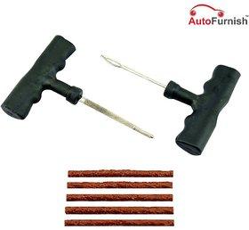 Autofurnish PRO Vacuum  Tubeless Tyre Puncture Plug Repair Kit