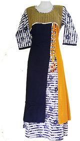 Ladies Cotton Kurti Multi Colour Designin Length49 and Bust (chest)36
