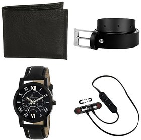 Multiple Combos With Synthetic Strap Watch For Men