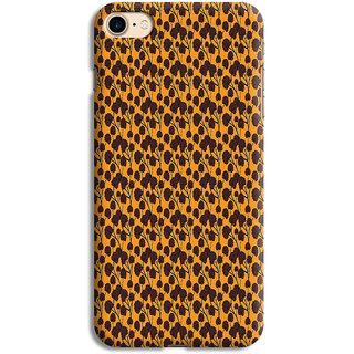 PrintVisa Floral Pattern Design Designer Printed Hard Back Case For iPhone 6s - Multicolor