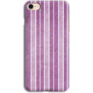 PrintVisa Lines Patterns Purple Violet White Designer Printed Hard Back Case For iPhone 6s - Multicolor