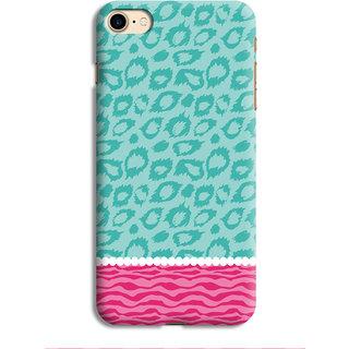 PrintVisa Pink Gulabi Sundar Cool Patterns Blue Designer Printed Hard Back Case For iPhone 6s - Multicolor