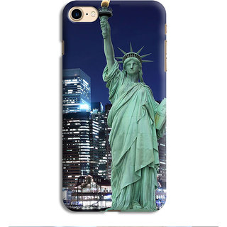 PrintVisa Satue Of Liberty New York NY Usa Designer Printed Hard Back Case For iPhone 6s - Multicolor