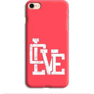 PrintVisa Love Lovely Red Laal Designer Printed Hard Back Case For iPhone 6s - Multicolor