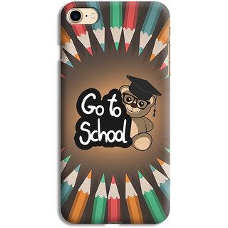 PrintVisa School Education Animation Quotes Designer Printed Hard Back Case For iPhone 6 - Multicolor