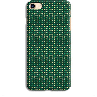 PrintVisa Green White Hara Patterns Designer Printed Hard Back Case For iPhone 6 - Multicolor