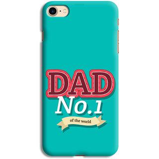 PrintVisa Home Dad Love Find Emotions Child Designer Printed Hard Back Case For iPhone 7 - Multicolor