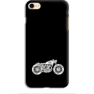 PrintVisa Bike MoTorola MoTorcycle Cool Vehicle Swag Boy Designer Printed Hard Back Case For iPhone 7 - Multicolor
