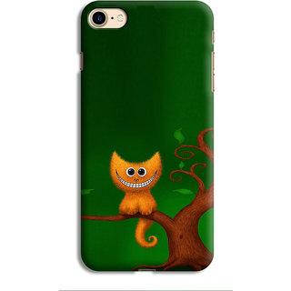 Printvisa Cat Billi Biladi Tree Bark Designer Printed Hard Back Case For Ip