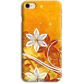 PrintVisa Flowers Designs Circles Patterns Beautiful Designer Printed Hard Back Case For iPhone 7 - Multicolor