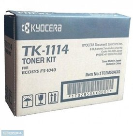 Kyocera TK-1114 Toner Cartridge Kyocera Kyocera FS-1040/FS-1020MFP/FS-1120. Single Color Toner(Black)