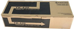 Kyocera TK 439 Toner Cartridge Kyocera 180/181/220/221. Single Color Toner(Black)