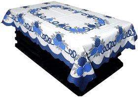 CASA-NEST Floral Cotton Centre Table Cover - Cream