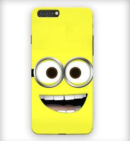 PrintVisa Yellow Blue Color Drop Modern Art Fancy Designer Printed Hard Back Case Cover For iPhone 7 Plus - Multicolor