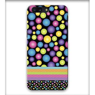 PrintVisa Multicolor Ethnic Design Bubbles Designer Printed Hard Back Case Cover For iPhone 8 Plus - Multicolor