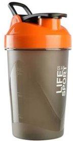 Liboni 500 ml Orange Protein Shaker  Sipper