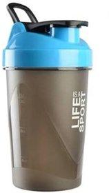 Liboni 500 ml Blue Protein Shaker Sipper