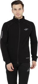 Aarmy Fit Mens High Neck Jacket (Black)