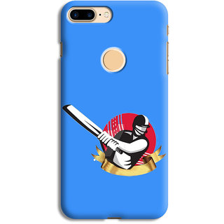 PrintVisa Test 50 Cricket Bat Ball Sachin Designer Printed Hard Back Case Cover For One Plus 5T - Multicolor
