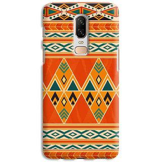 PrintVisa Patterns Design Egypt Ethnic Engravings Designer Printed Hard Back Case Cover For OnePlus 7 - Multicolor