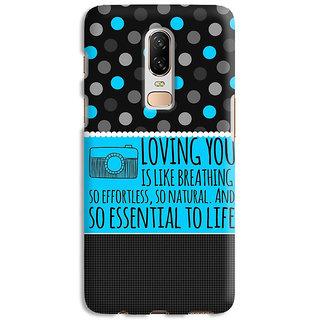 PrintVisa Smile Love Lovely Beautiful More Than Stars Dots Designer Printed Hard Back Case Cover For OnePlus 7 - Multicolor