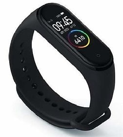 TECHO Black Blood Pressure Heart Rate Pedometer And Sleep Monitor Bluetooth Waterproof Smart Watch