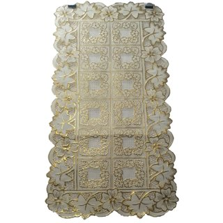 Ayush Collection Gold 80 cm Table Runner