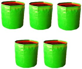 GROW BASKET Terrace Gardening Grow Bags (9 x 12 Inches) - Pack of 5 Bags