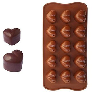 REGAL  New Heart Shape Silicone Bakeware Mould (1 Pc)
