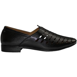 Synthetic Leather Ethnic juti For Men's