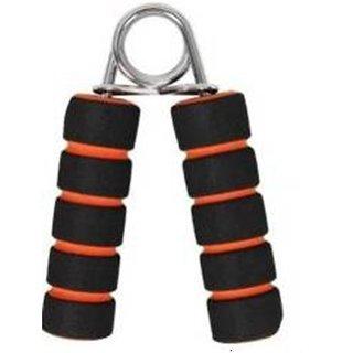 Liboni Double Colour Foam Orange Hand Grip and Fitness Grip