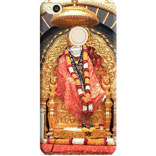 PrintVisa Shirdi Sai Baba Designer Printed Hard Back Case Cover For Redmi 4 - Multicolor