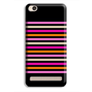 PrintVisa Multicolor Line Design Designer Printed Hard Back Case Cover For Redmi 5A - Multicolor
