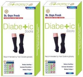 Dr. Oxyn Diabetic Care Socks - Health Socks - Diabetic Socks For Men  Women (Pack Of 2)